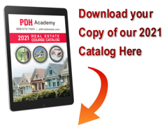 2021 PDH Real Estate Course Catalog